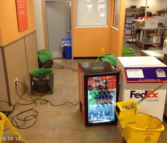 Water Loss at FedEx in Rochester, MI