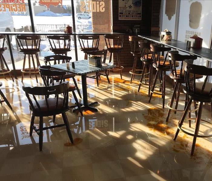 Restaurant in Lake Orion Floods