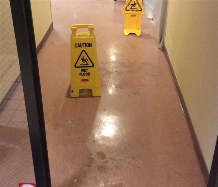 Commercial Water Loss in Southfield, MI