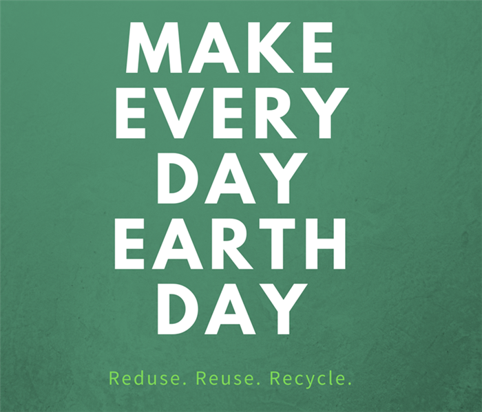 Earth Day Graphic With SERVPRO logo- Everyday is Earth Day