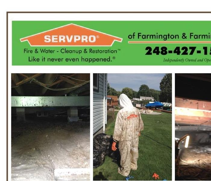 Water Damage Water in your Crawl Space?